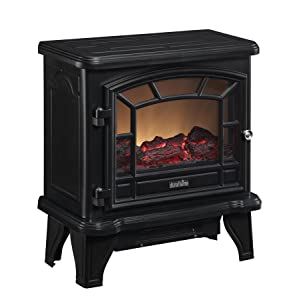 Duraflame DFS 550 21 BLK Maxwell Electric Stove With Heater Blac