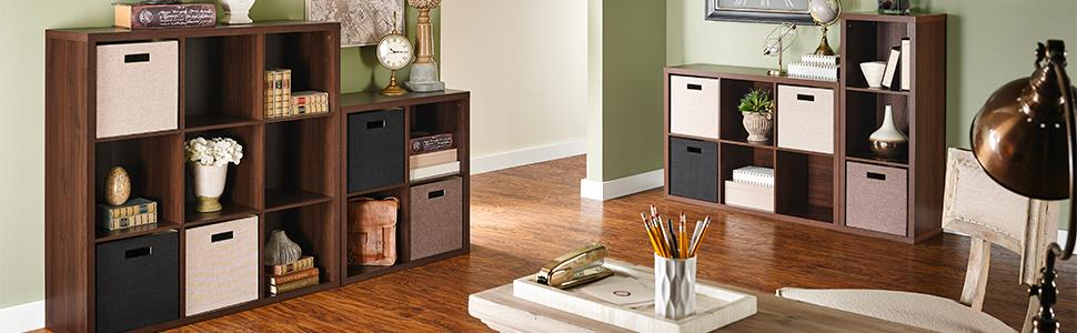 Decorative Storage Cube Organizers