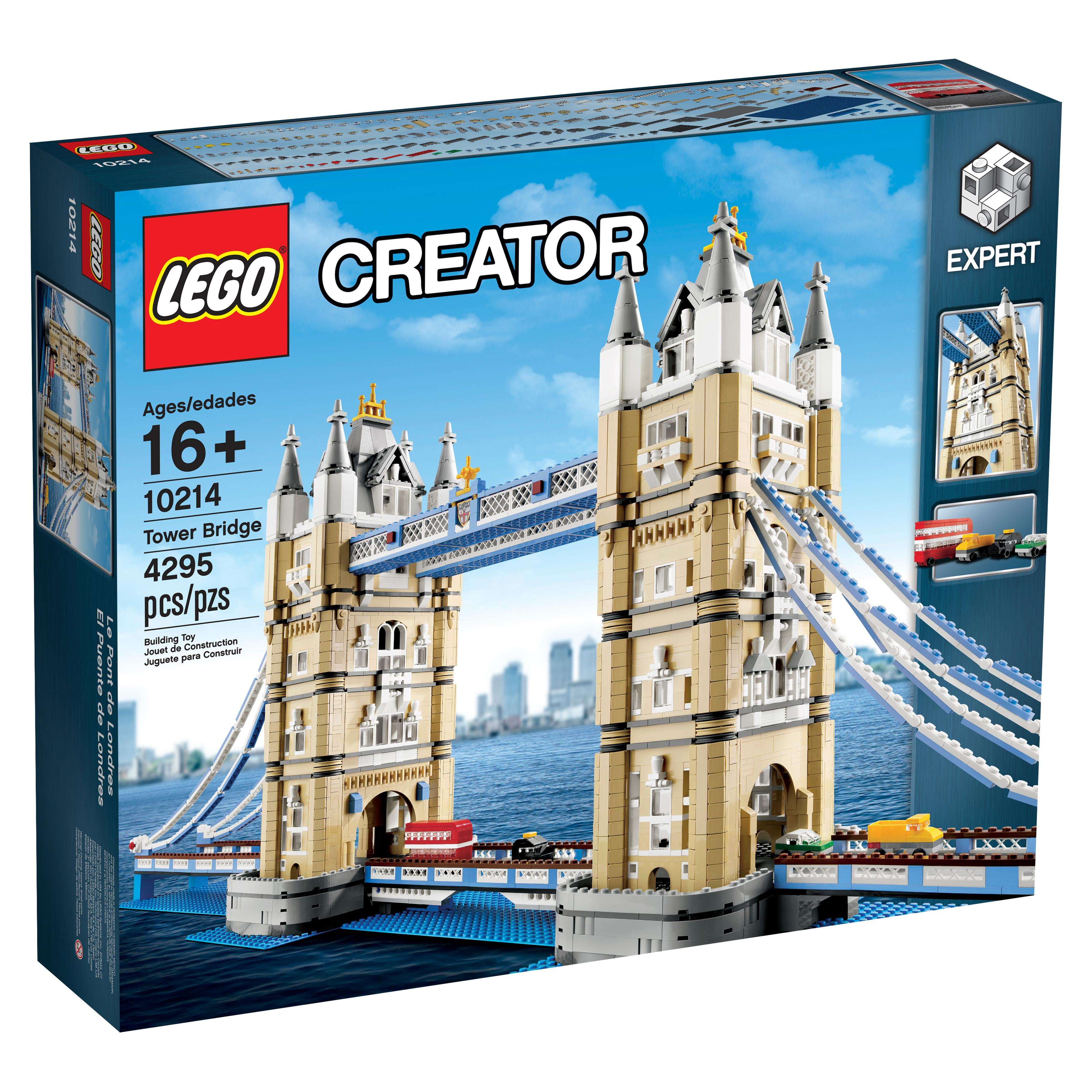 Lego tower bridge 10214 toys games for Architecte tower bridge