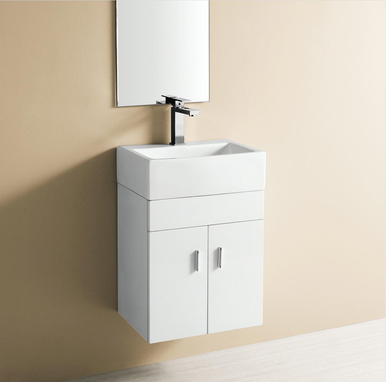 Wall hanging sink bathroom - Elite Sinks Sinks Rectangle Sink Bathroom Sink Vanity Set Vanity