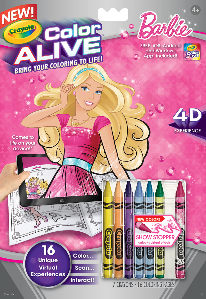 Crayola Coloring Pages App : Amazon crayola color alive action coloring pages