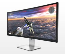 Dell Curved Widescreen Monitor