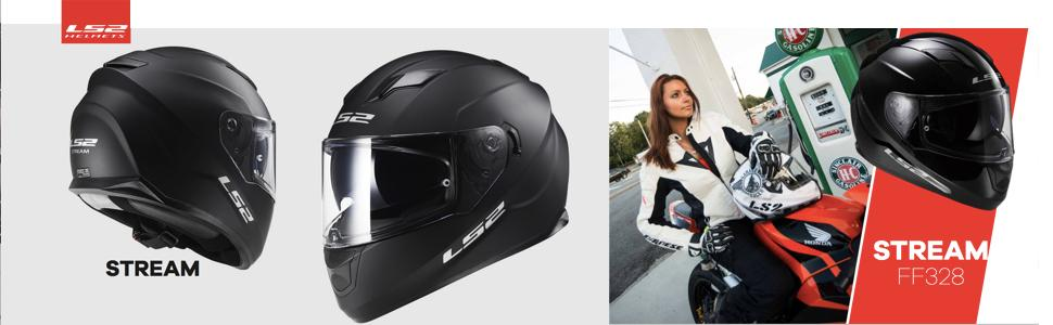LS2 Helmets, LS2 Stream Full Face Motorcycle, Bell Qualifier, Scorpion EXO 500,