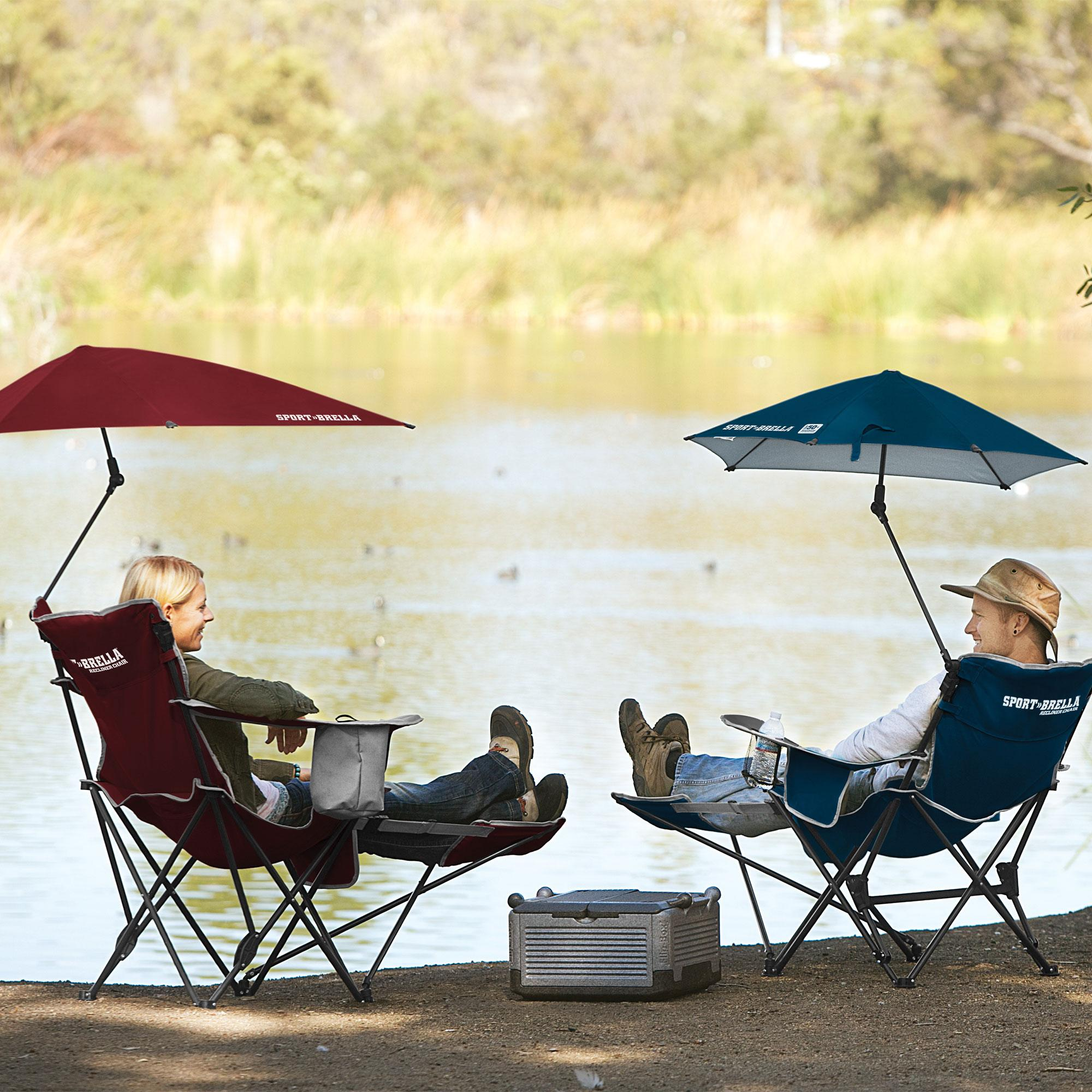 Amazon Com Sport Brella Recliner Chair Sports Amp Outdoors