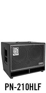 Amazon Com Ampeg Pro Neo Pn 210hlf Bass Amp Cab 2x10
