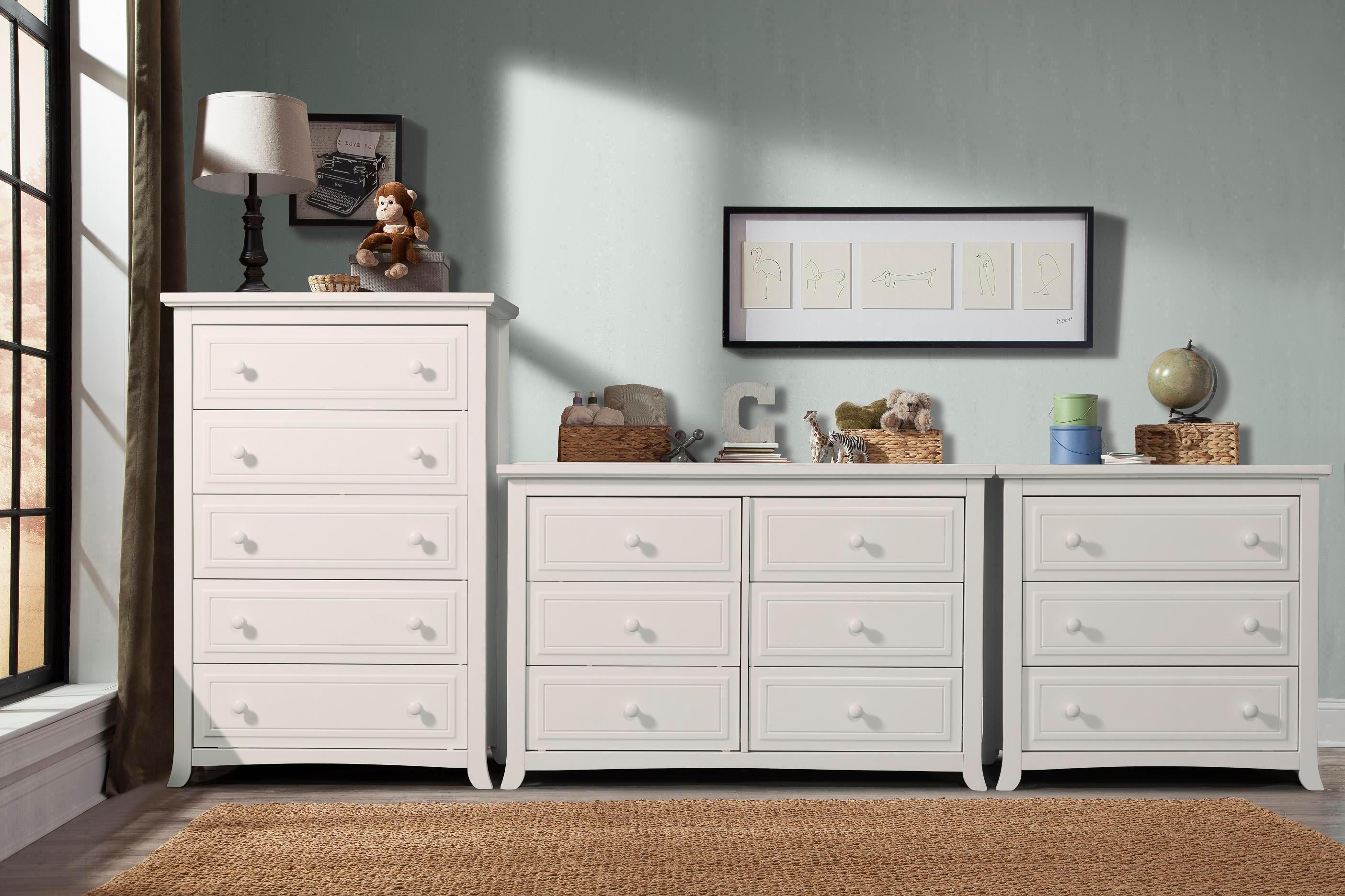 Amazon Com Graco Auburn 5 Drawer Dresser Pebble Gray Baby