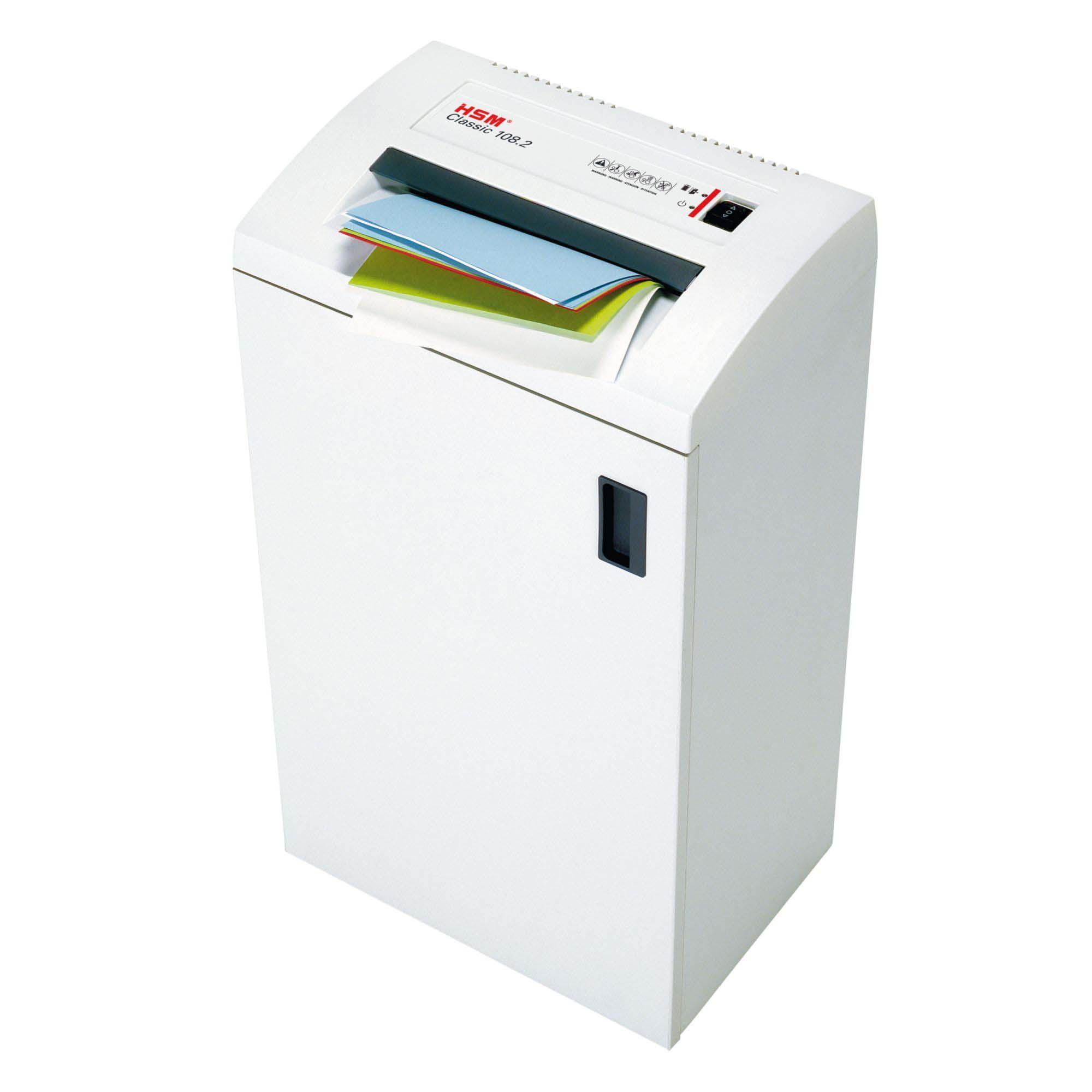 Amazon.com: HSM Classic 108.2, 22-24 Sheet, Strip-Cut, 13-Gallon ...