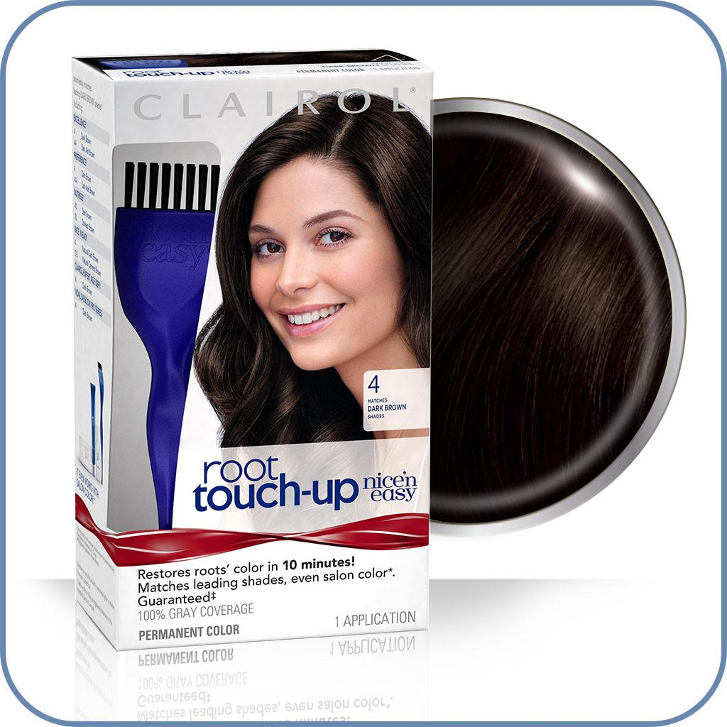 Amazon Com Clairol Nice N Easy Root Touch Up 4 Kit Pack