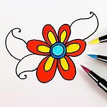 Tombow Dual Brush Pen illustration