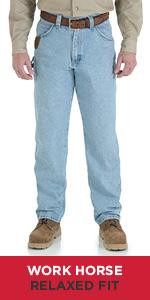 amazon com wrangler riggs workwear men s ripstop carpenter jean