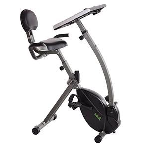 wirk ride bike with the wirk ride exercise bike workstation and standing desk