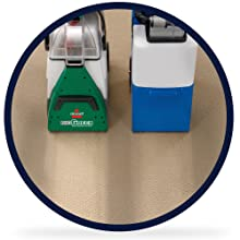 rent bissell big green cleaning machine