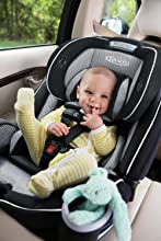 Rear-facing baby car seat