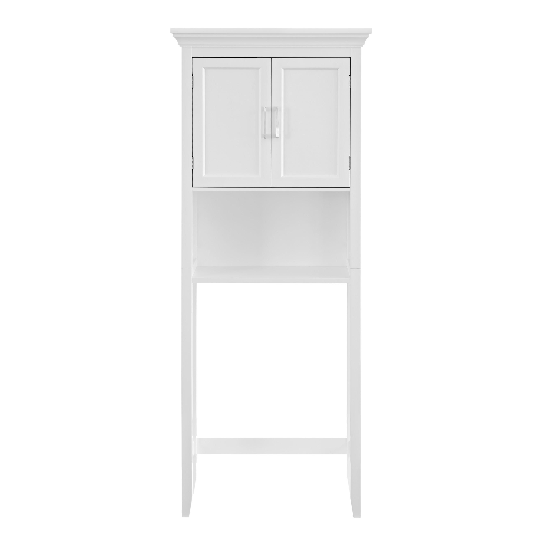 Amazon.com: Simpli Home Avington Space Saver Cabinet, White: Kitchen & Dining