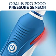 Visible Pressure sensor, Pro 3000, better brushing