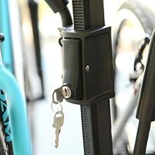 Chinook, Swagman, locking bike rack, ratcheting hook