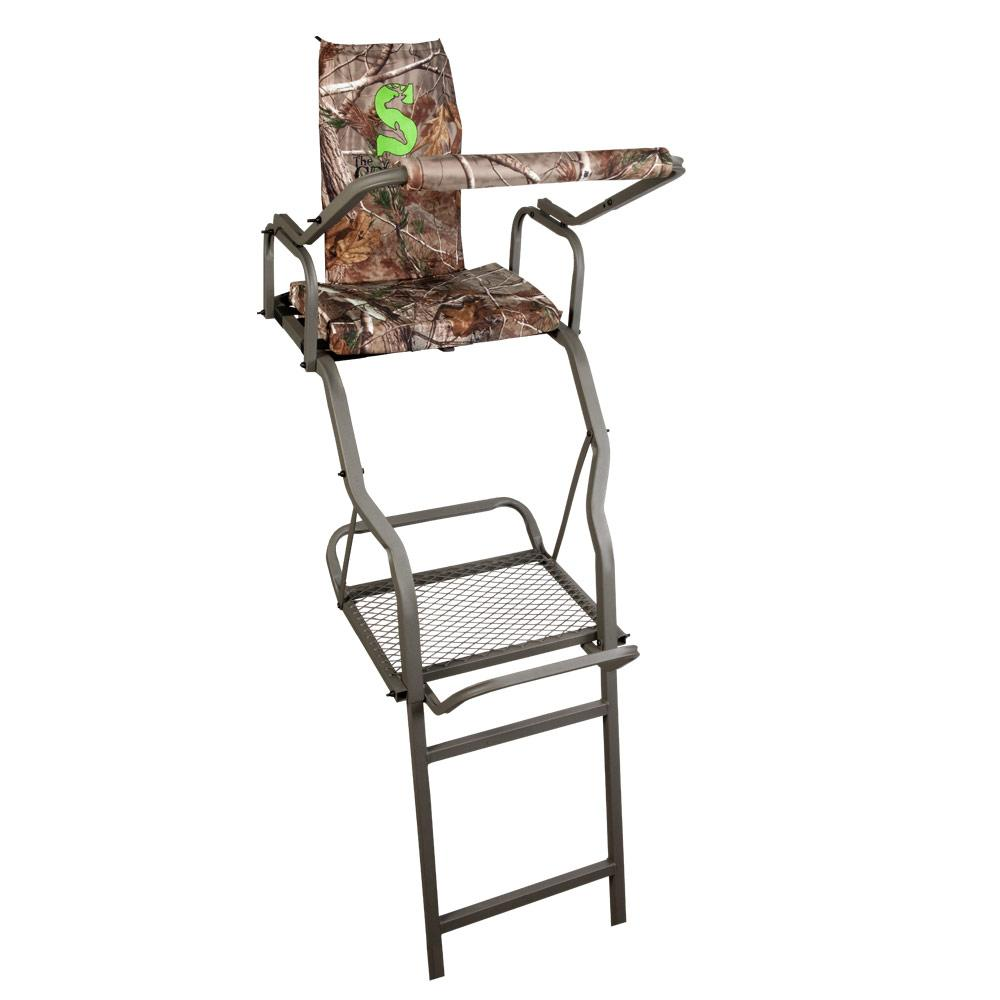 Amazon Com Summit Solo Deluxe Ladder Stand Hunting