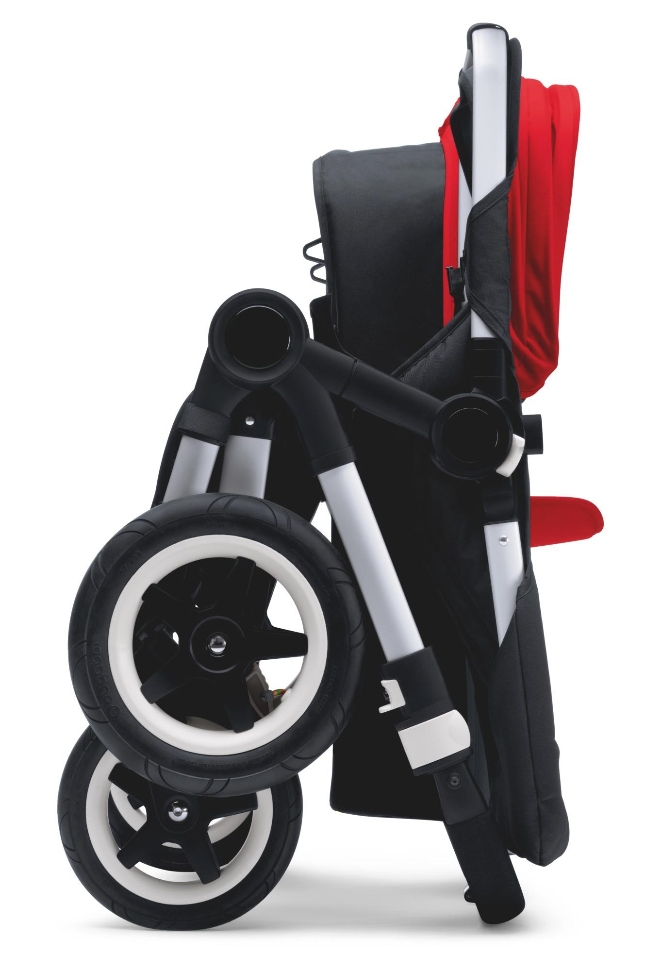 Amazon.com : Bugaboo 2015 Donkey Base Stroller, Alu/Blk : Baby