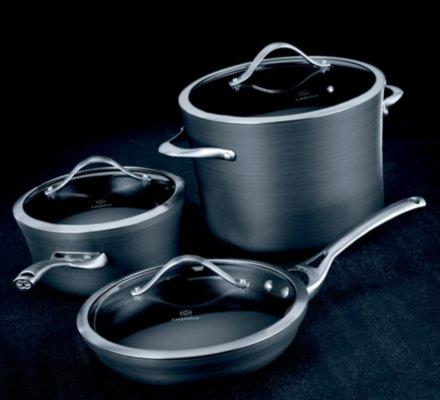 Calphalon Pc Commercial Nonstick Hard Anodized Kitchen Cookware Set