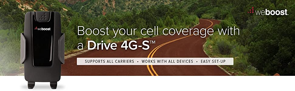 weBoost Drive 4G-S Cell Phone Signal Booster