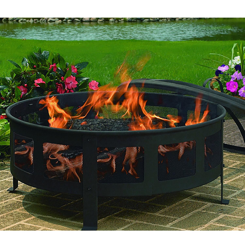 Amazon.com : CobraCo Bravo Mesh Fire Pit : Garden & Outdoor