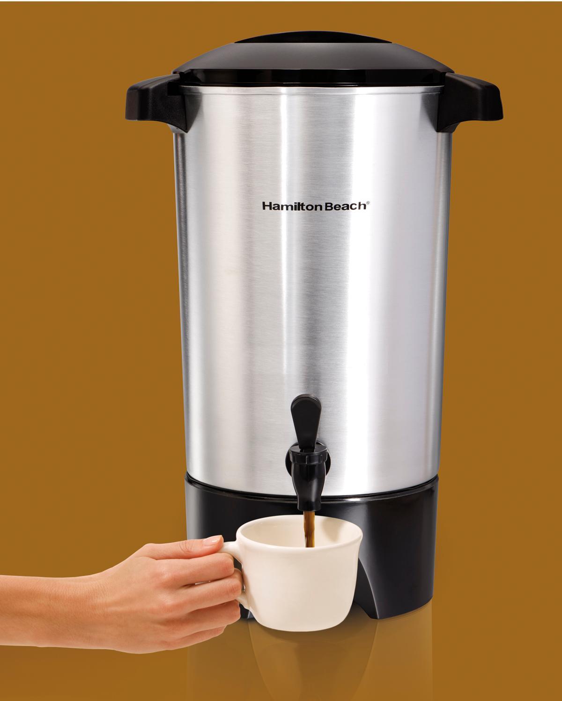 Best Electric Coffee Maker Amazoncom Hamilton Beach 40515 42 Cup Coffee Urn Silver