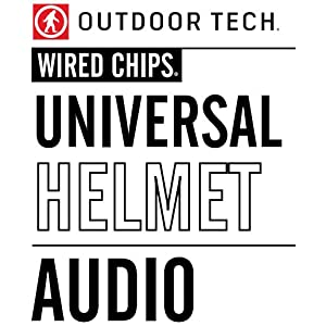 Outdoor Tech Wired Chips Universal Helmet Audio System
