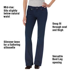 b0cbc087bca Dickies Women s Slim Bootcut Jean at Amazon Women s Jeans store