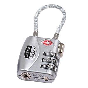 tsa combination lock, luggage lock, tsa lock, tsa combo lock, tsa lock adjustable