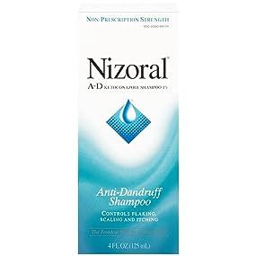 NIZORAL A-D Anti-Dandruff Shampoo, 4 FL OZ