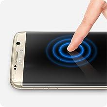 spigen galaxy s7 edge screen protector, galaxy s7 edge screen protector, s7 edge screen protector