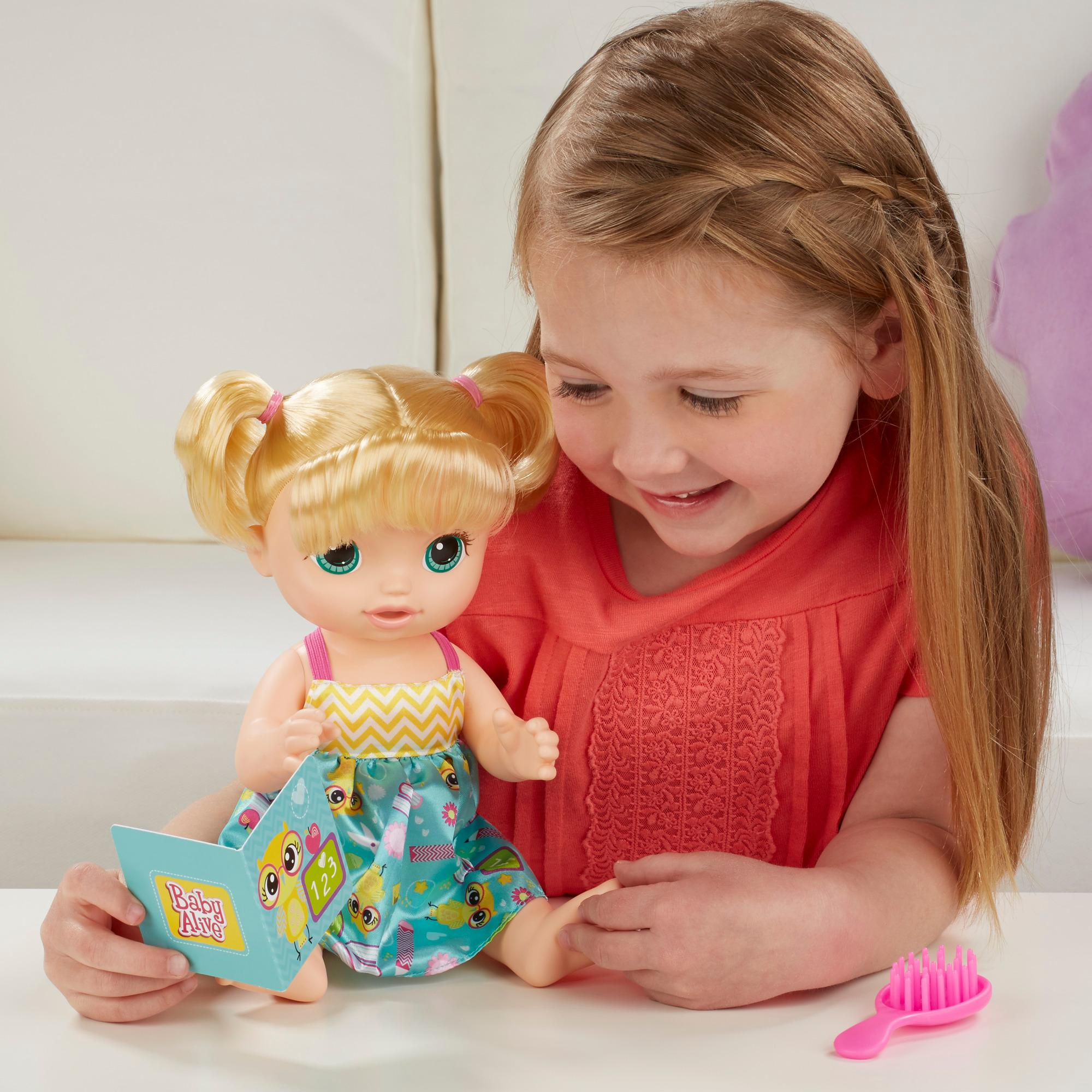 Amazon.com: Baby Alive Ready For School Baby (Blonde): Toys & Games