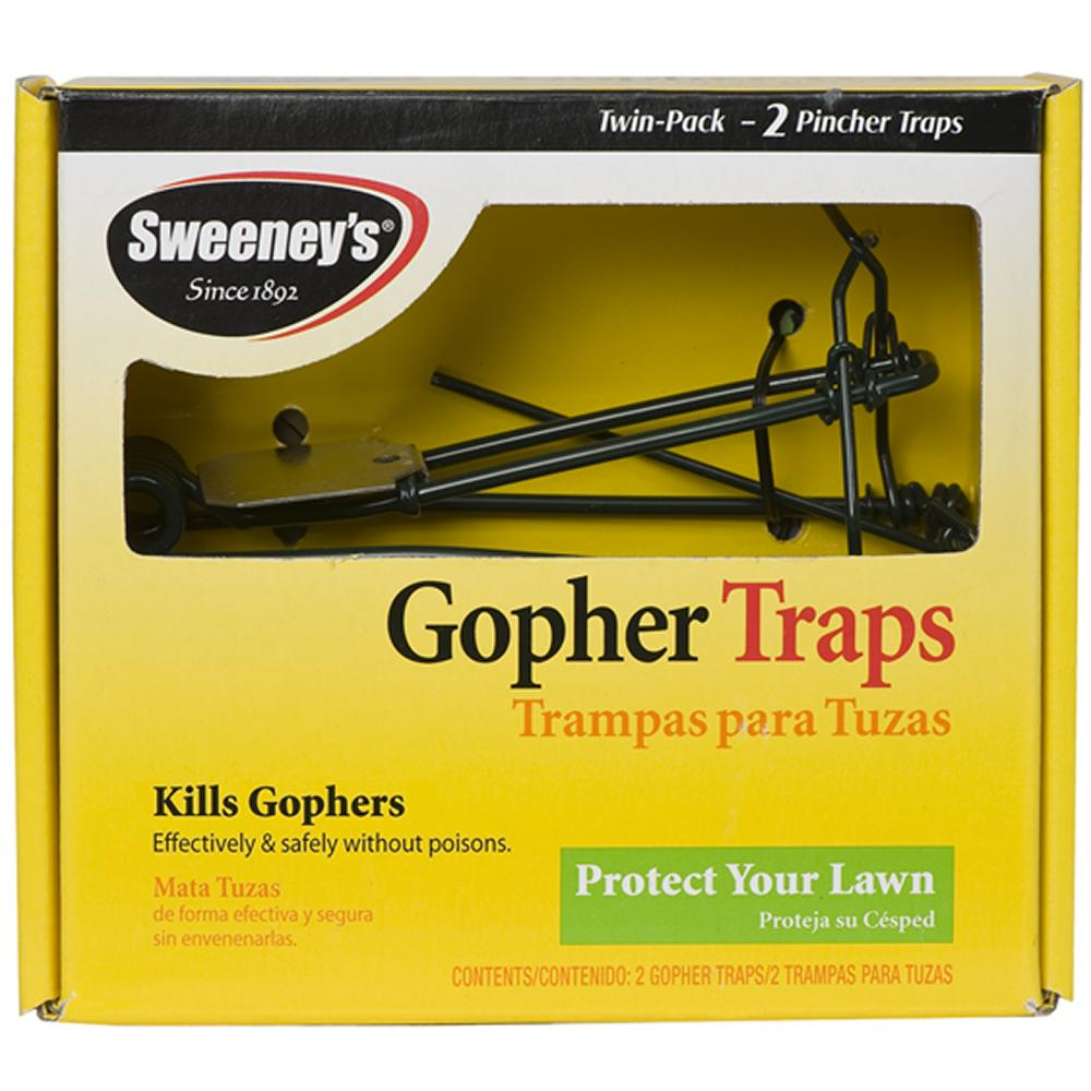 Amazon.com : Sweeney's Gopher Trap, 2 Pack S9013