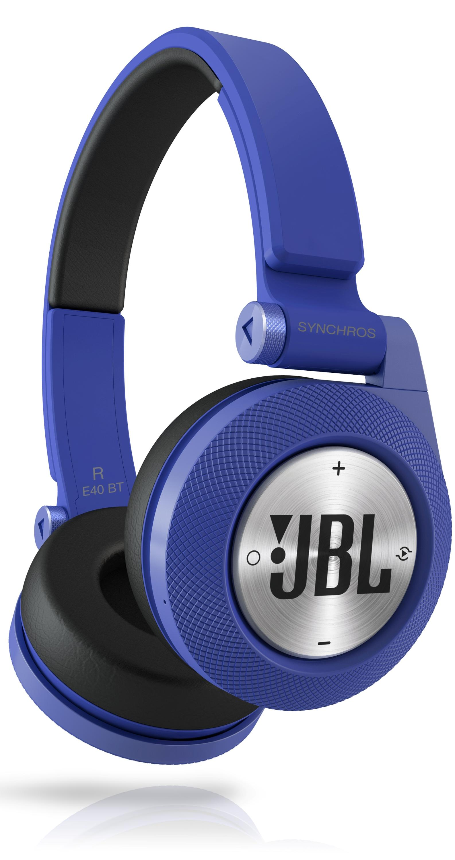 Amazon.com: JBL E40BT Blue High-Performance Wireless On