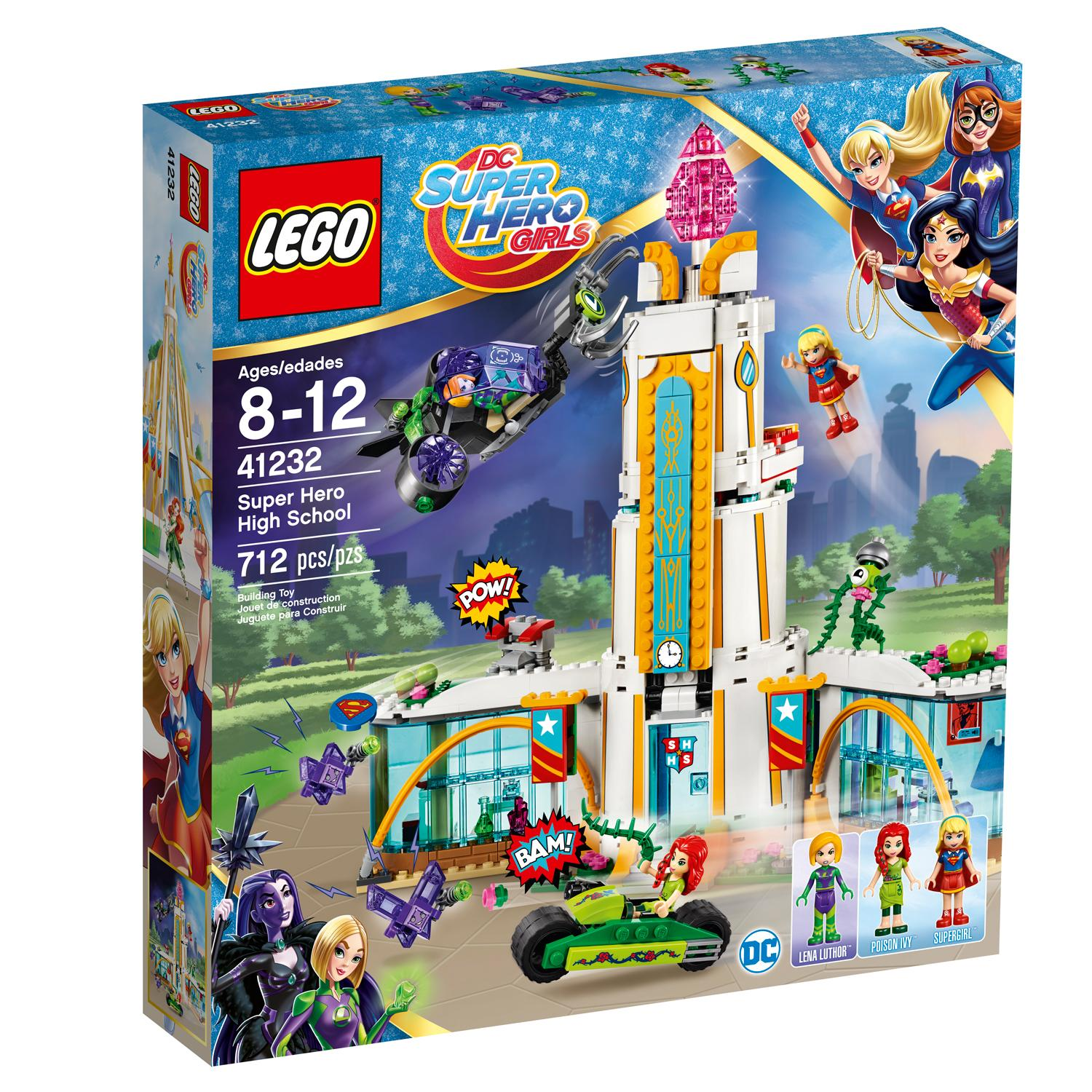 Lego Toys For Girls : Amazon lego dc super hero girls high