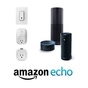 Works with Amazon ALexa and Echo