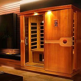 Amazon Com Dynamic Saunas Amz Dyn 6310 01 Madrid 3