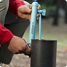 Life Straw Mission is perfect for travel to remote destinations where contaminated water is found.