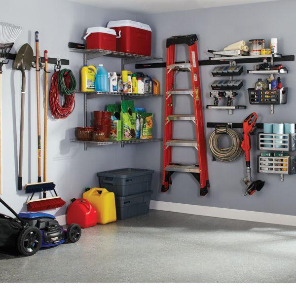 Amazon Com Rubbermaid Fasttrack Garage Storage System