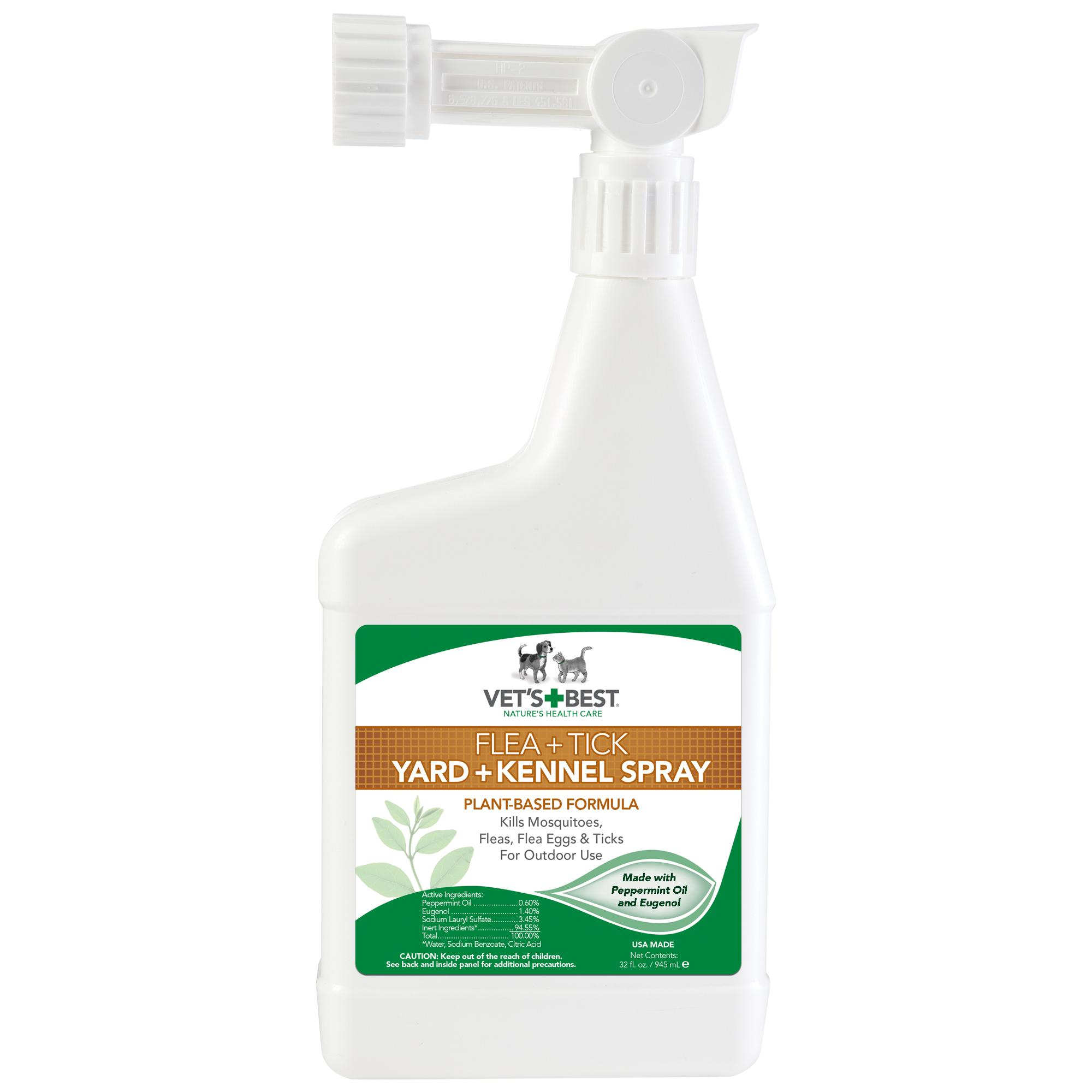 Vet S Best Natural Flea And Tick Yard Amp Kennel Spray 32