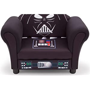 star, wars, Lucas, film, force, awakens, darth, vader, kids, chair, toddler, playroom, play, room