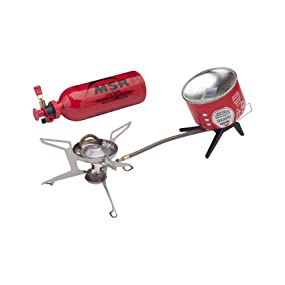 msr, stove, backpacking, universal, camping, canister, liquid
