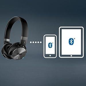 SHB8750NC/27 Wireless Noise Canceling Headphones - Multi-pairing