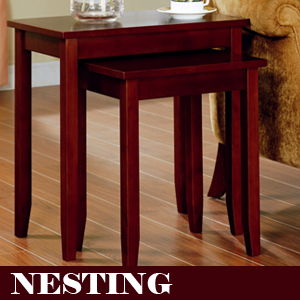 Exceptional The Rosewood Tall Brown End Table