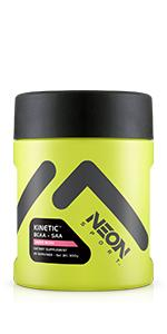 neon sport kinetic BCAA SAA electrolytes hydration gym workout exercise supplement amino