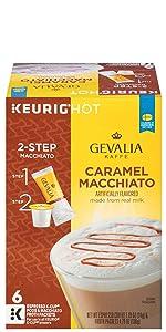 Gevalia Mocha Latte Espresso Coffee With Froth Packets K