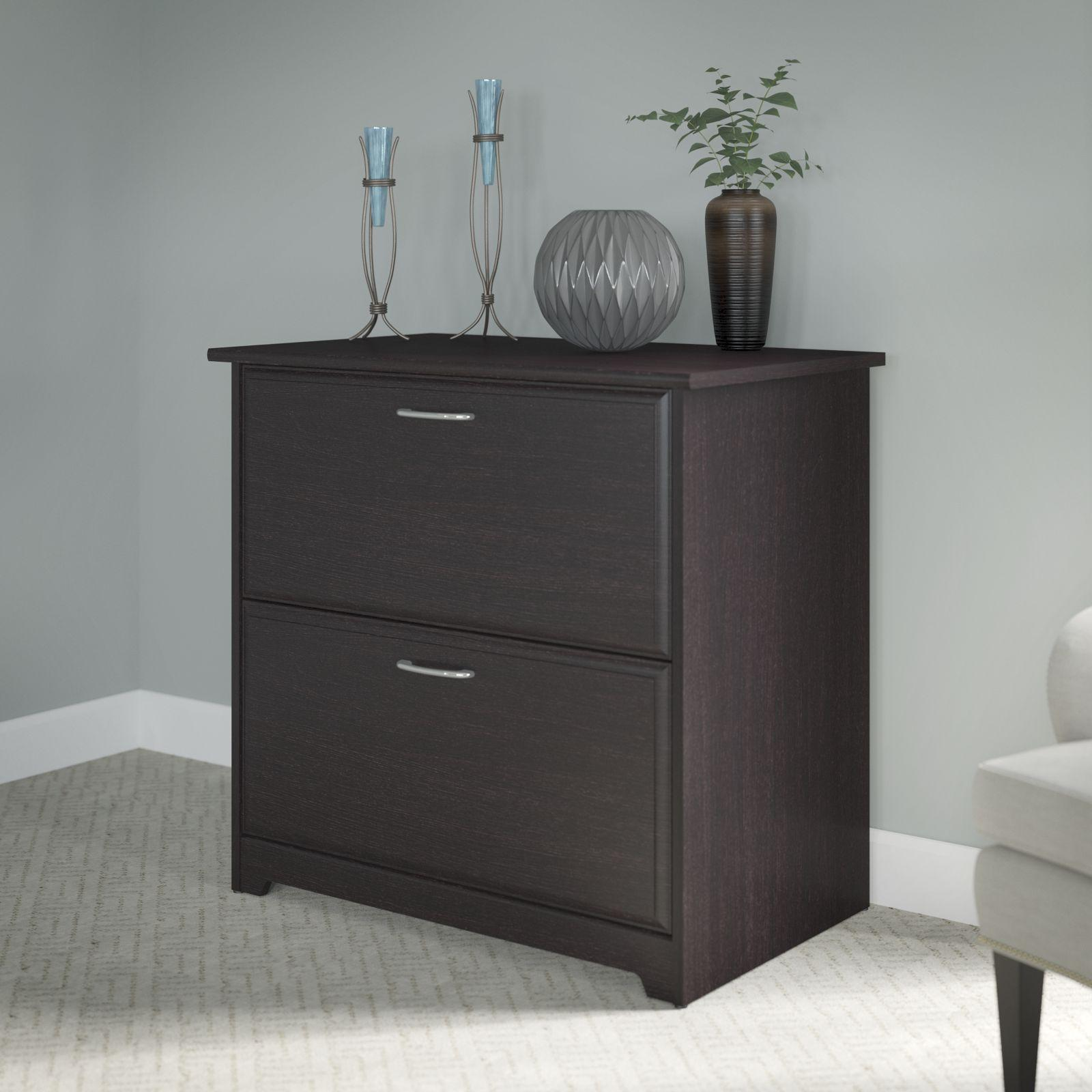 Amazon Com Cabot Lateral File Cabinet In Espresso Oak