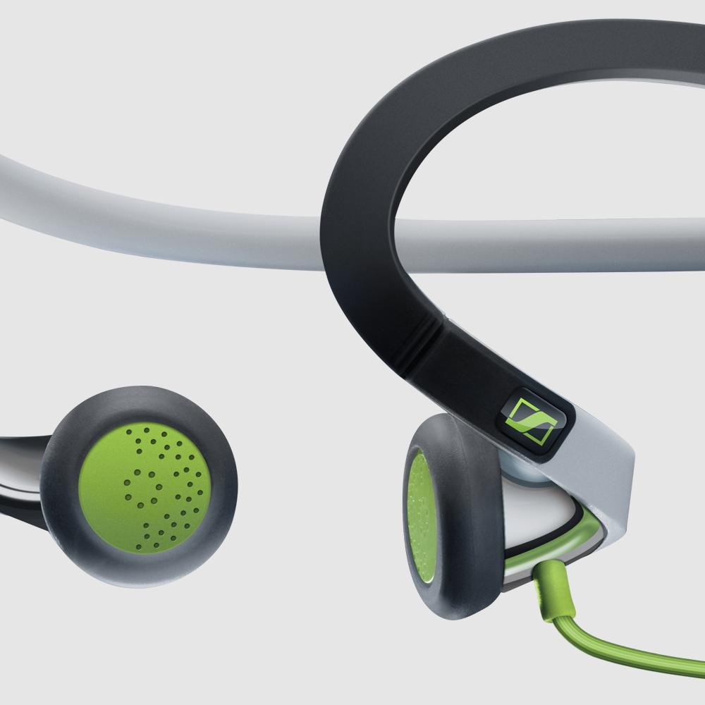 sennheiser pmx 686i sports earbud neckband headset apple devices home audio theater. Black Bedroom Furniture Sets. Home Design Ideas