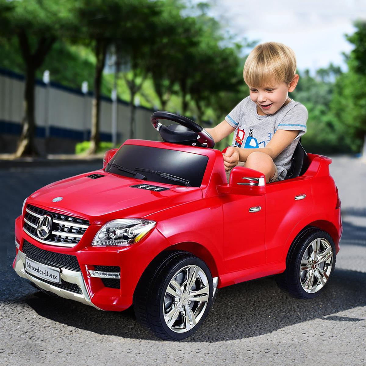 Costzon mercedes benz ml350 6v electric kids for Mercedes benz kids