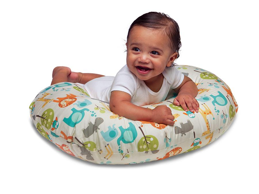 Amazon Com Boppy Pillow With Slipcover Miss Cherry